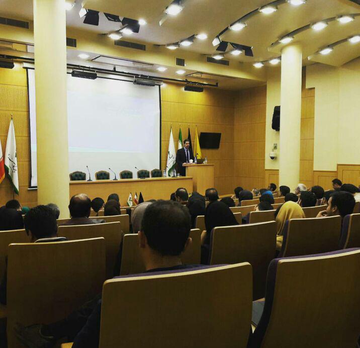 سمینار بورس با سخنرانی دکتر علی دهدشتی نژاد