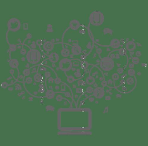 مجموعه آیکون های دیجیتال مارکتینگ