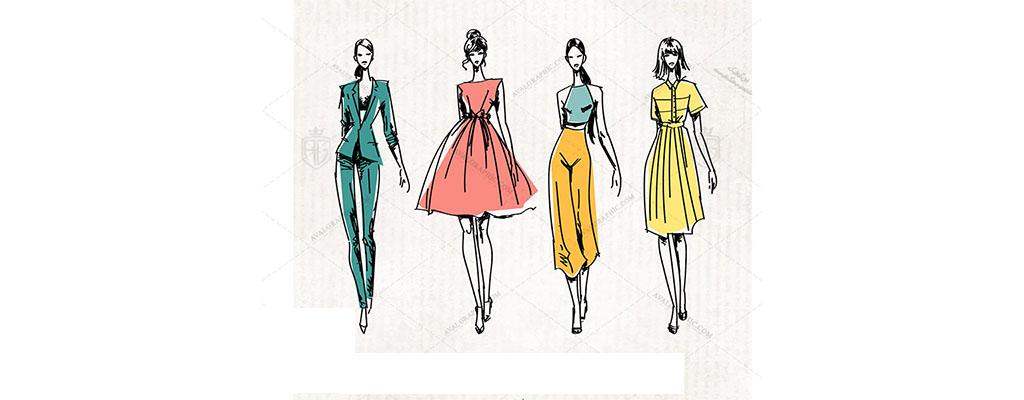 چگونگی طراحی کالکشن لباس