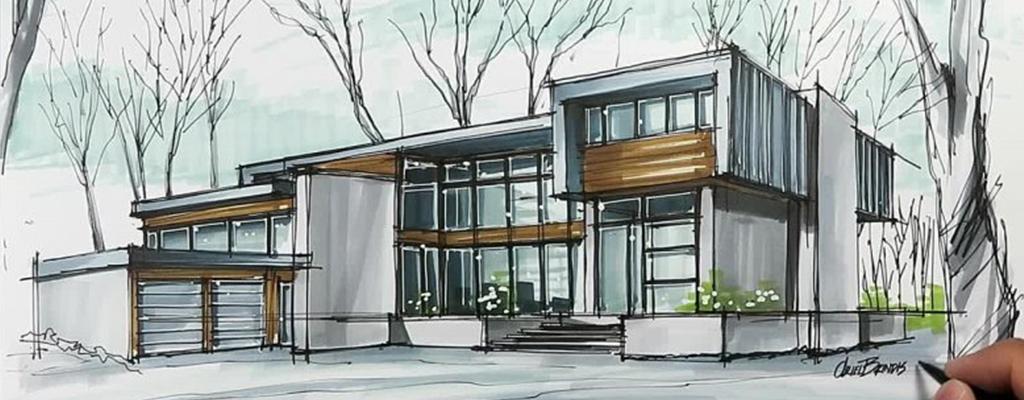اسکیس و راندو در رشته معماری