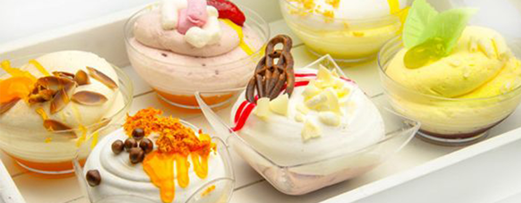 شیرینی و دسر های پایه